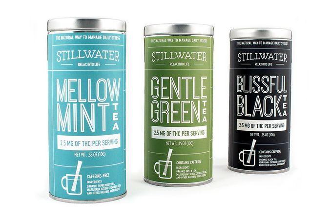 Stillwater Marijuana Infused Tea — The Dieline - Branding & Packaging