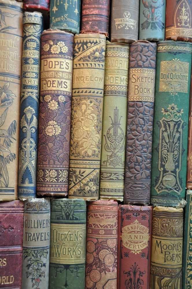 美丽的旧书