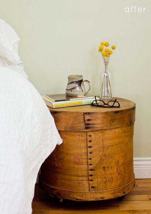 怎么样:奶酪盒床头柜