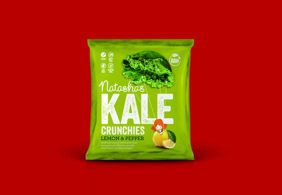 Natasha's Raw Living Food — The Dieline - Branding & Packaging