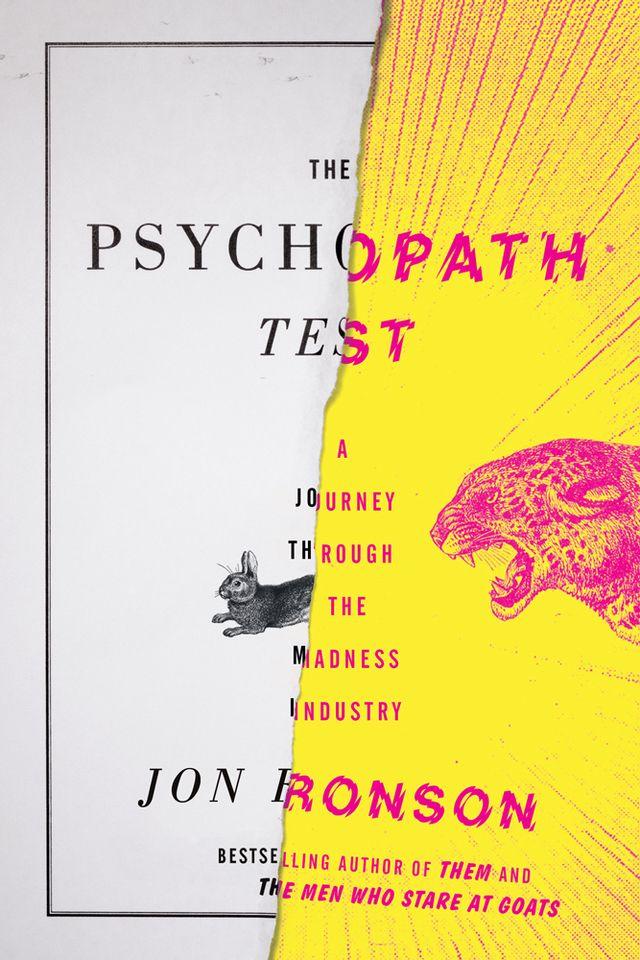 The Psychopath Test cover designed by Matt Dorfman for Riverhead Books