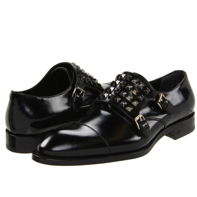 Dsquared Double Monk-strap Loafer.