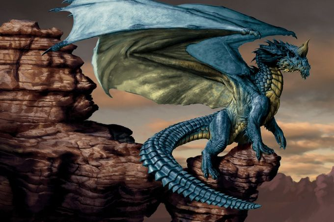 d&d blue dragon - Google Search