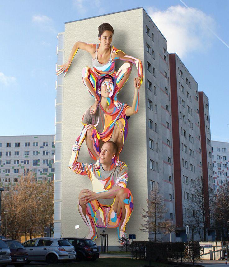 """艺术家:JBAK""""柏林新壁画""""04/2014"""