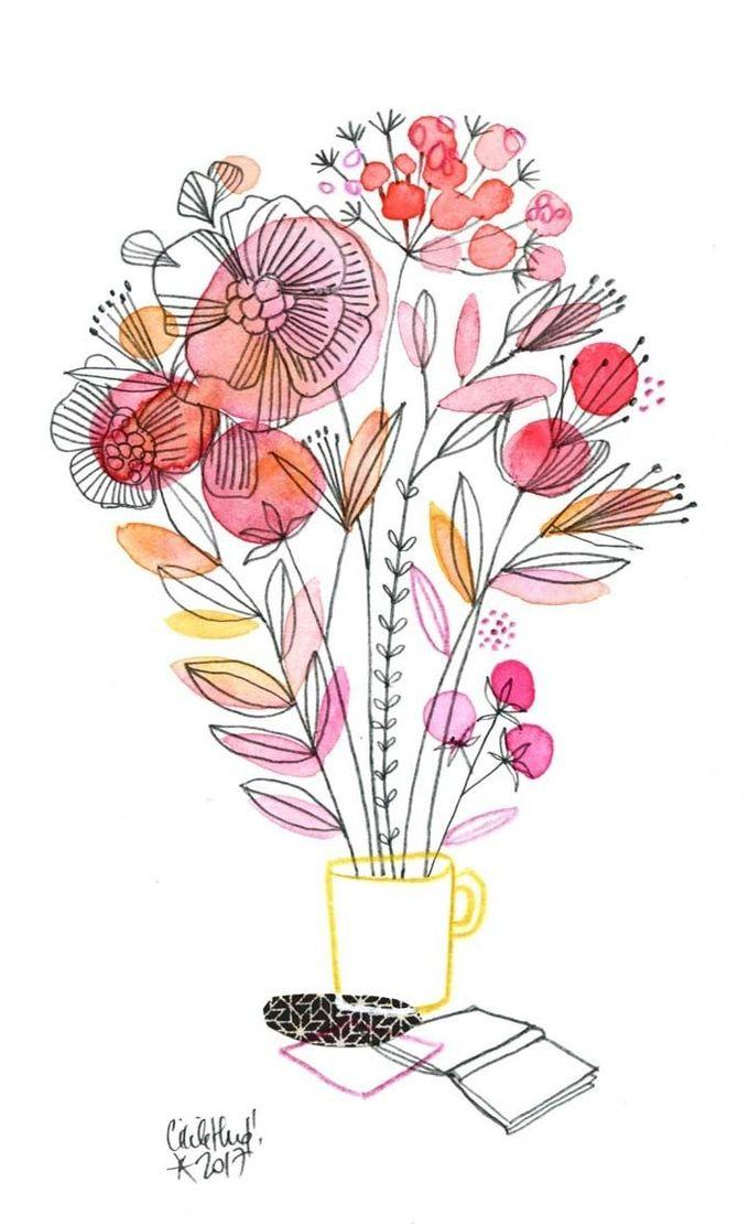 tasse bouquet copie
