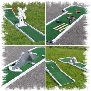 18.设计并制作我自己的迷你高尔夫球场