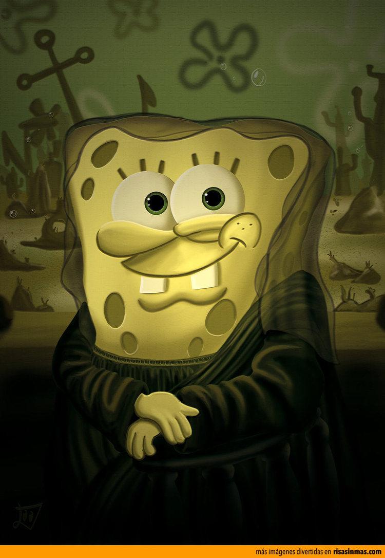 SpongeBob in famous paintings (9 images) | images.duelos.net
