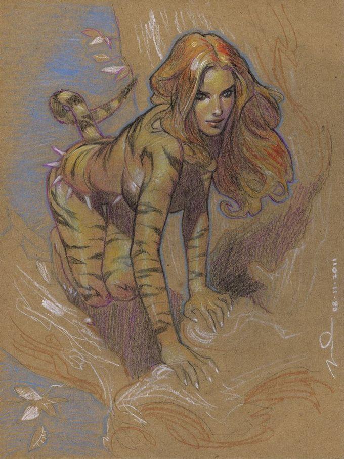 Tigra by Gerald Parel *