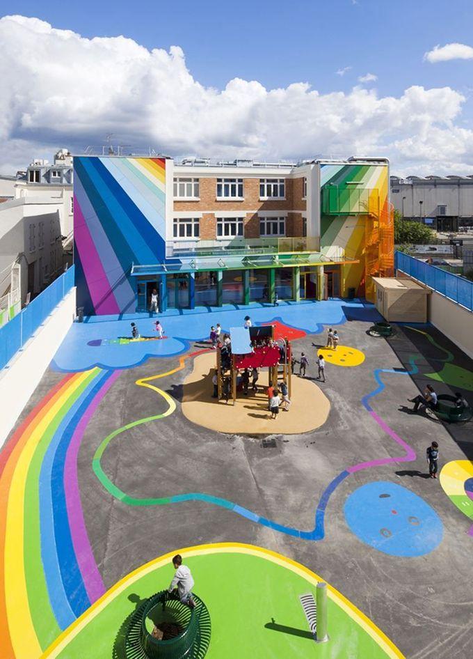 幼儿园Pajol  - 图片库#architecture #interiordesign #colors #children