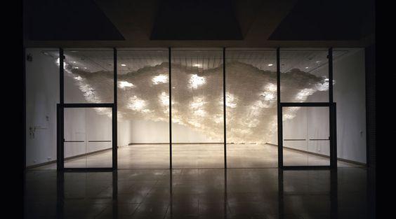Jacob Hashimoto's Ephemeral Installations