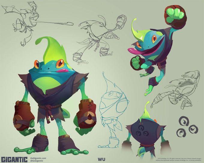 Mais artes do game Gigantic, do estúdio Motiga   THECAB - The Concept Art Blog