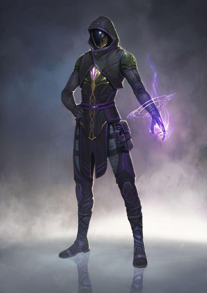ArtStation - character concept design, Jamin Lin