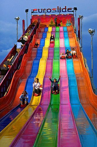 ☆ Euroslide, Toronto, Canada ☆ Does anyone else remember how amazing these were when you were a kid?