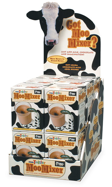 HogWild Toys Moo Mixer Packaging and POP by tenfour archive, via Flickr