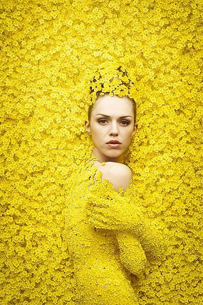 gorgeous color palette inspiration - bright sunny yellow