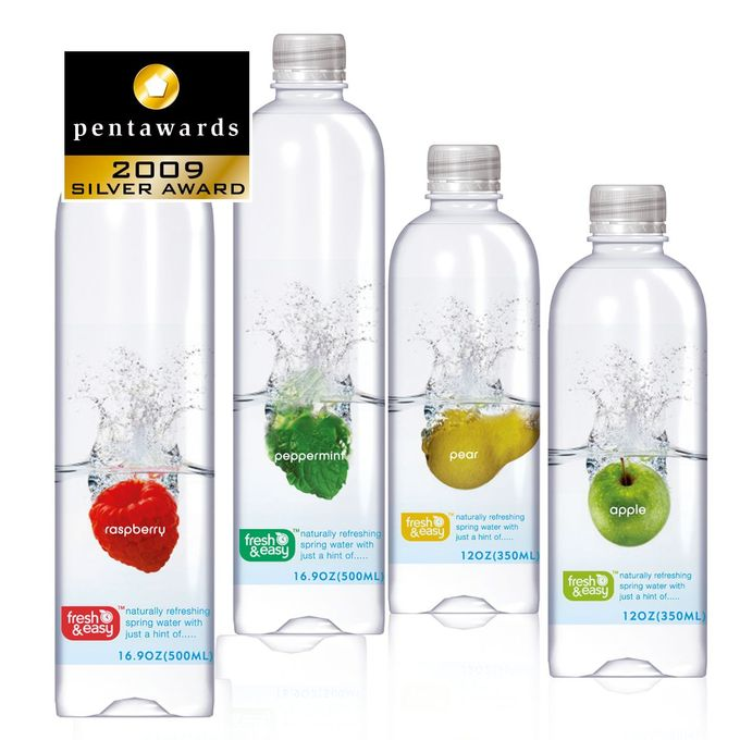 Fresh & Easy Flavoured Waters | By P&W Design Consultants | Silver | Pentawards 2009