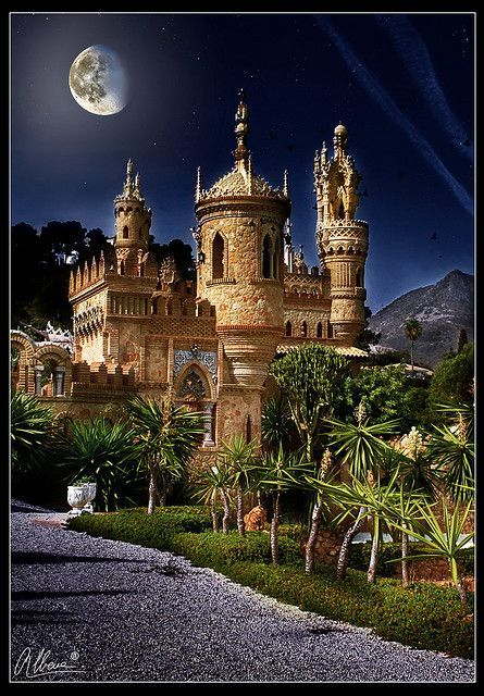 Colomares城堡,西班牙