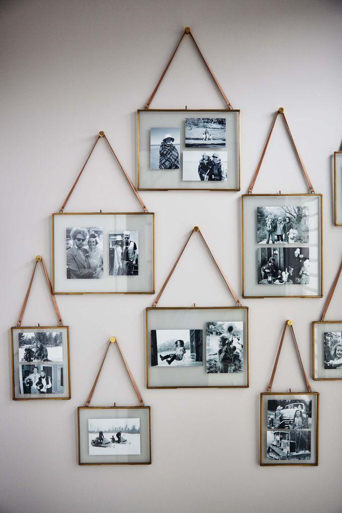 画廊的墙壁和照片展示应该在家庭住宅中不断发展。