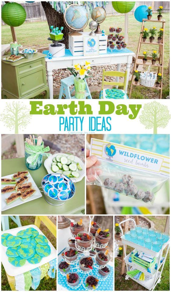 举办有趣的地球日聚会,举办这些伟大的派对活动和地球日活动。很多乐趣地球日对待和免费的印刷品,以帮助举办一个伟大的地球日派对。