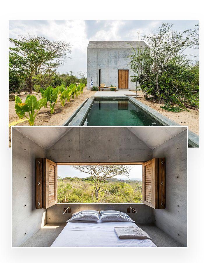 Les experiences les plus incroyables a vivre reperees sur Airbnb : Dormir dans une retraite zen La Casa Tiny à Puerto Escondido au Mexique