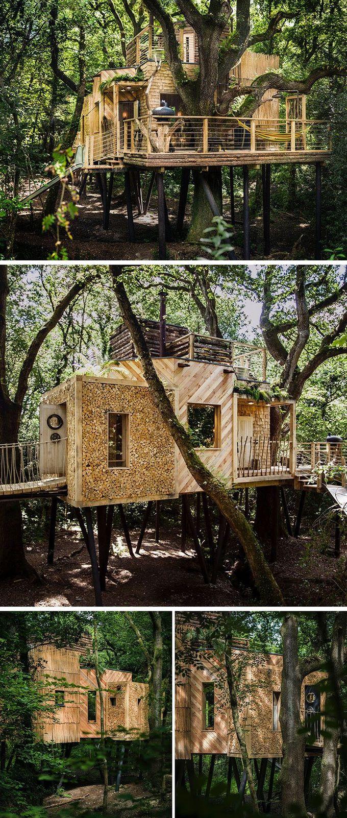 这家神奇的树屋酒店专为度假的成年人设计