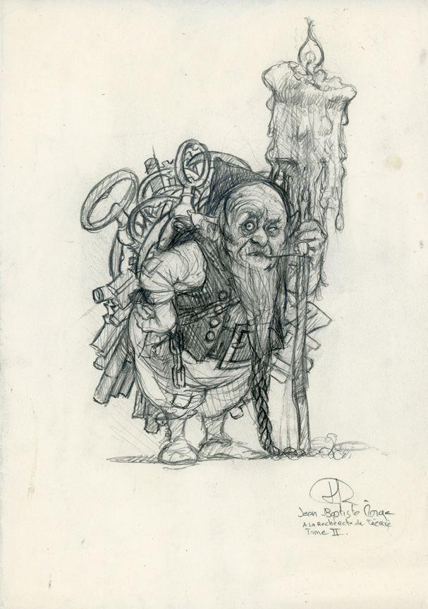 Jean-Baptiste Monge illustrations