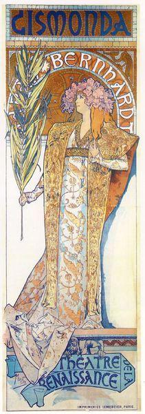 Miracles About Arts: 新繪畫藝術大師---Alphonse Mucha (慕夏) - yam天空部落