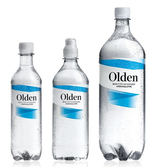 Olden is a 100% clean mineral water that has been protected by nature through thousands of years.
