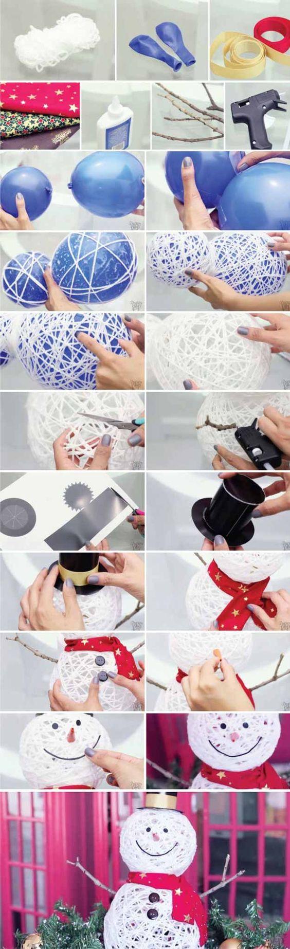 寻找一些你可以为家园做的雪人创意?如果你需要一些创意雪人的想法来装饰你的家,请检查这些。