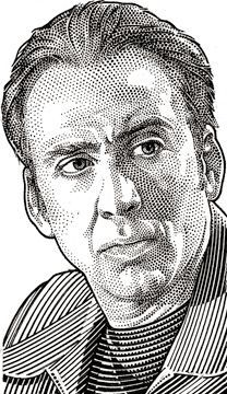 Wall Street Journal Hedcuts by Randy Glass, Nicolas Gage