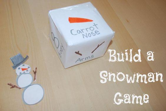 建立一个雪人游戏