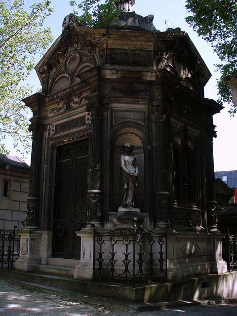 巴黎五月8,2008-020:陵墓,拉雪兹神父公墓,巴黎。
