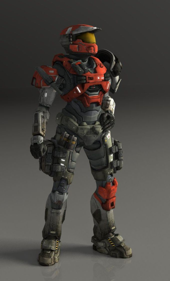 Omega Team / Spartan II August - 099 [Halo Reach] by TheMachinifilms