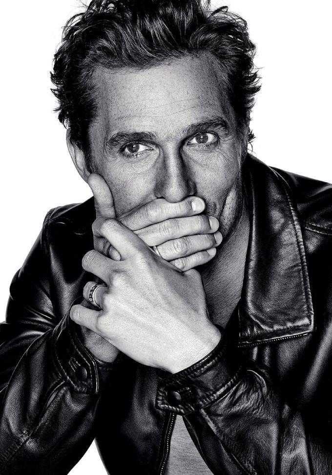 Matthew McConaughey / Photographed by Eric Ray Davidson / For L'Optimum Magazine December/January 2014/2015