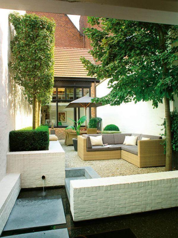 带有水景的小庭院 - 适合'这样'的客户。