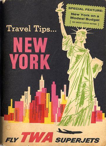 TWA指南:复古书籍封面