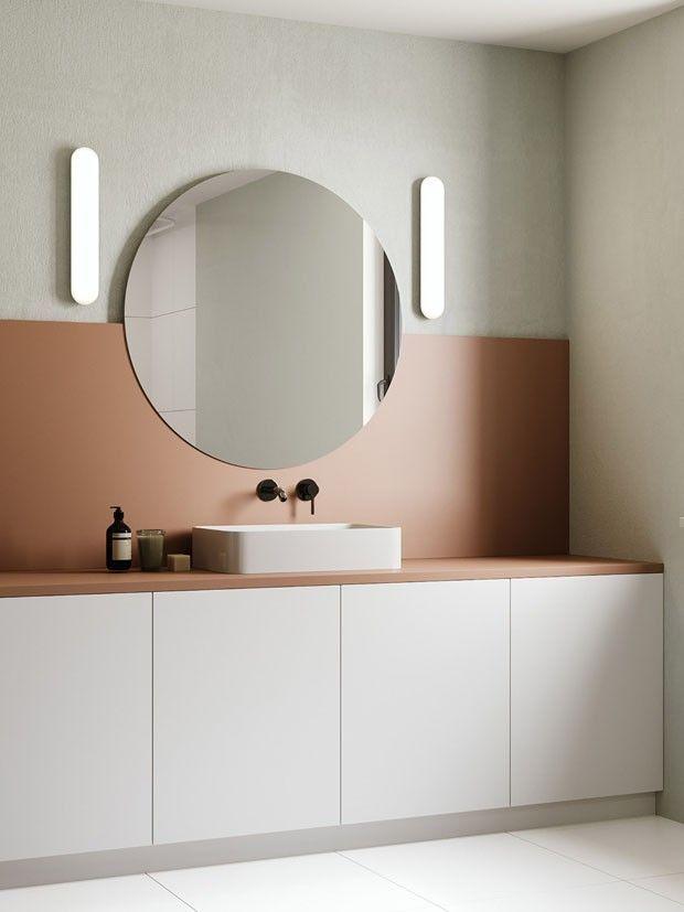 当代装饰:简约装饰艺术浴室(照片:复制品)