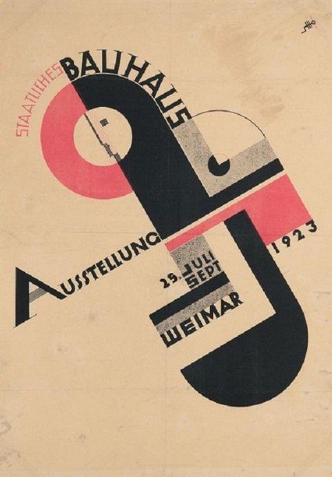 Staatliches Bauhaus by Joost Schmidt