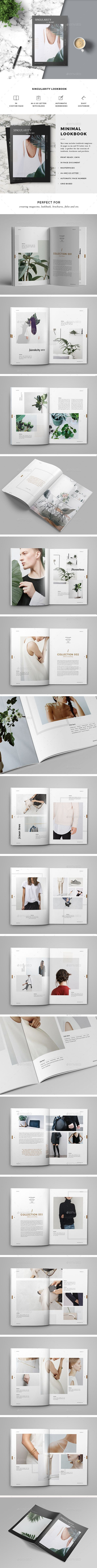 clean, clean cover, clean layout, clean magazine, cool, cs4, cs5, cs6, design, design magazine, editorial, flexible, graphic design, graphics, indesign, leaflet, letter size, lookbook, magazine, marketing, minimal, modern, multipurpose, print, white space, print-templates, magazines Lookbook Template: Professional, modern and clean template for any purpose. Features: 36 unique pages Size A4&US Letter Indd (InDesign format) Idml (InDesign format) Only free fonts Print-ready with bleed Grid/c...