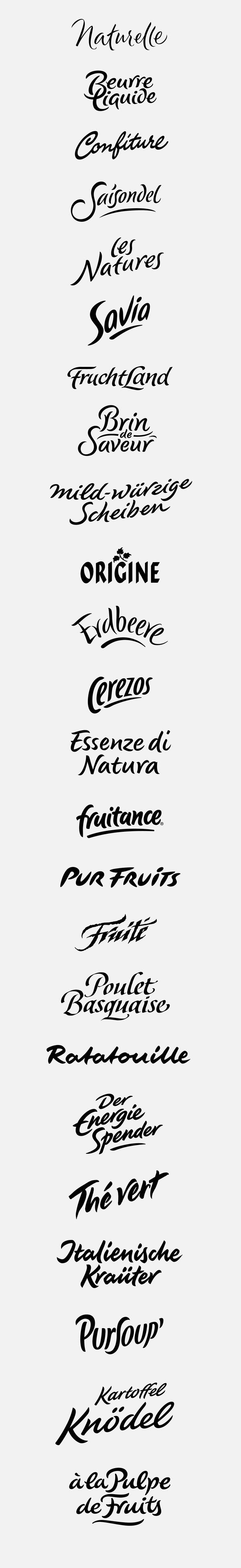 logotypes: natural, organic on Behance