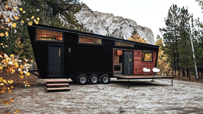 #tinyhome | Escape the dreariness of modern life by reliving the past.