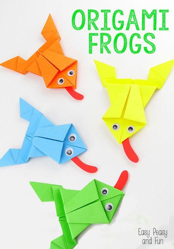如何刺激一些可以跳跃的彩色折纸青蛙?只需按照这个简单的教程,你就可以开始了!这款折纸儿童项目制作相当简单,孩子们一旦完成就会玩得很开心!如何制作折纸青蛙教程您需要什么...
