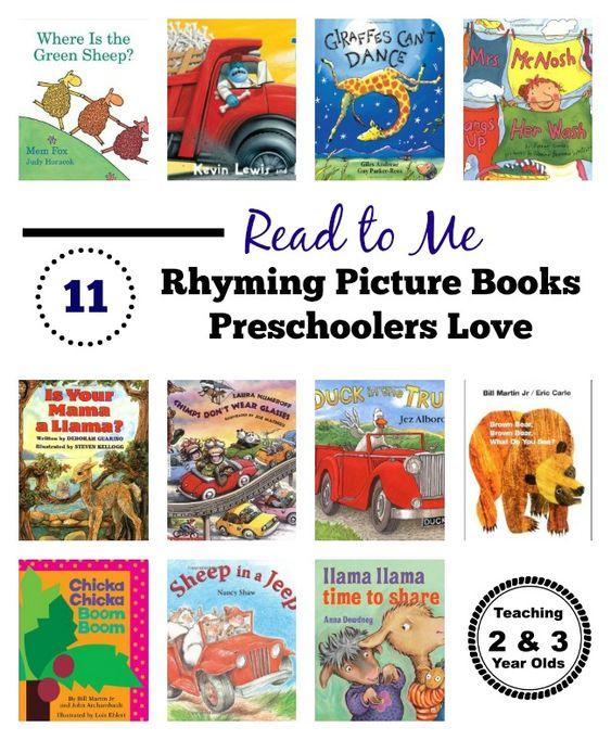 看一下这11种年轻孩子喜欢的押韵书籍!他们不仅建立语言技能,而且很有趣!
