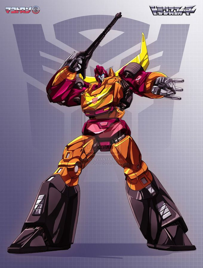 Rodimus Prime by ~MakotoOno on deviantART