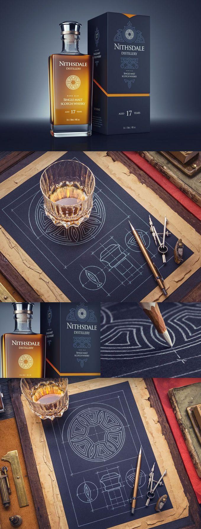 品牌与包装:捷克共和国Mike Prague的Behance黑色版