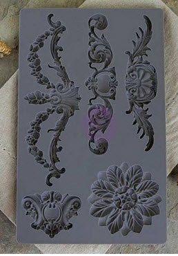 Prima IOD Moulds - Baroque 3 Silicone Mold