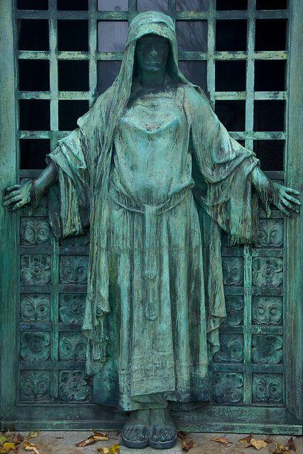 与图,Pere Lachaise公墓,巴黎的坟茔门