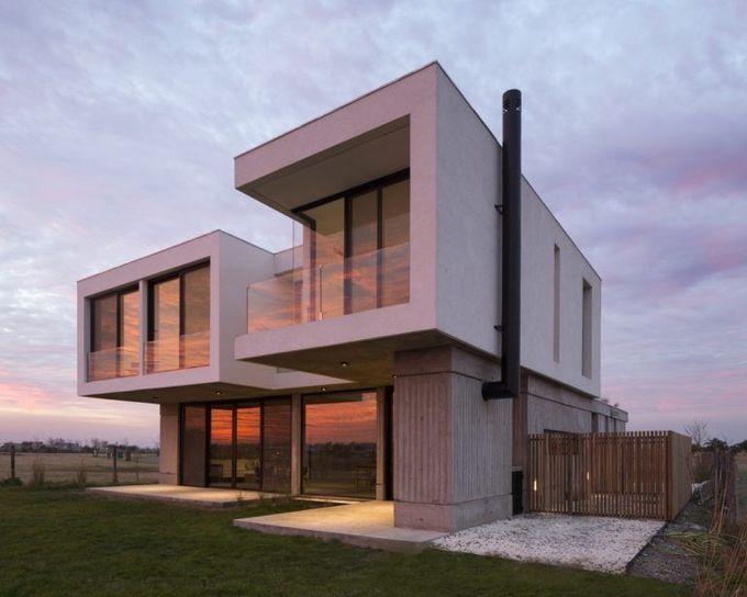 BAM的混凝土高尔夫球场设计!建筑师事务所
