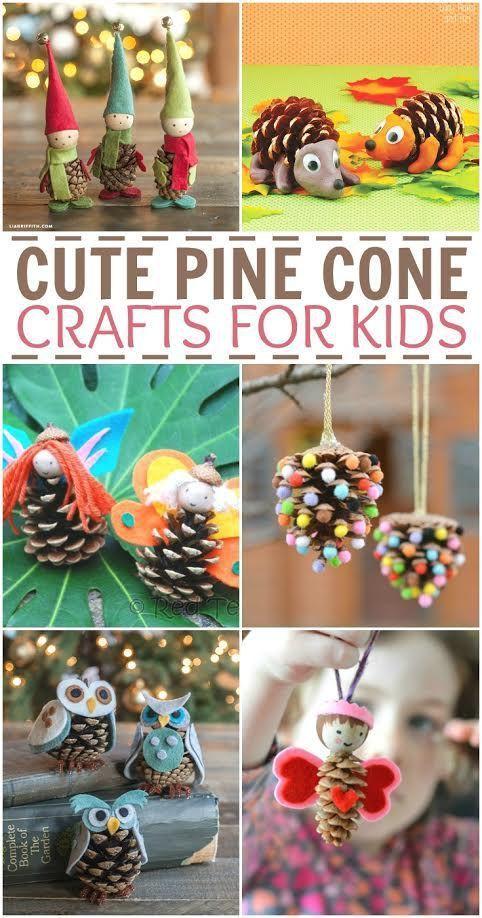 为孩子们寻找一些有趣的秋冬松果工艺品?这些可爱的松果工艺品非常有趣和创造性,它们会让您的孩子忙碌几个小时!