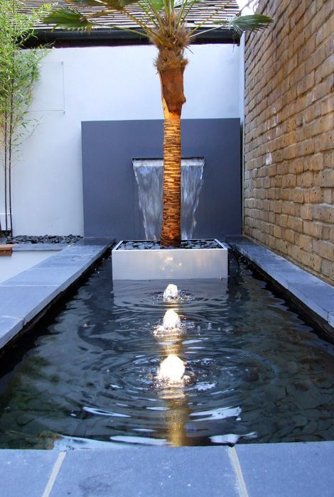 Really useful information about designing a water feature for the garden